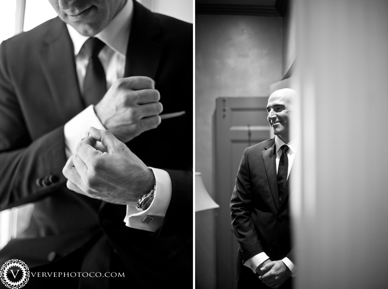 Groom prep Graydon Hall Wedding