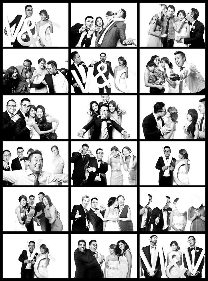 Toronto Wedding Photobooth, Toronto wedding Malaparte TIFF LIghtbox